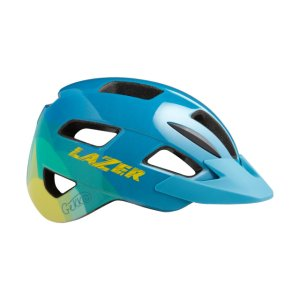 LAZER Kids Gekko Helm blue yellow