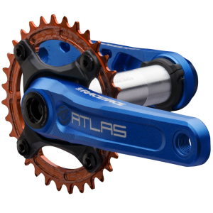 Race Face Atlas Cinch 83 Crankarm (RF151DH) 165mm blue